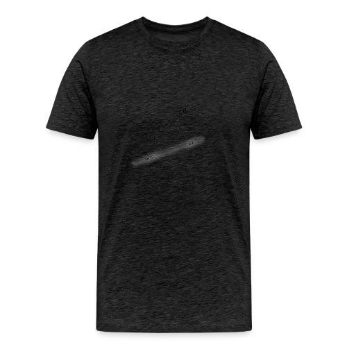 DeerSpear White - T-shirt Premium Homme