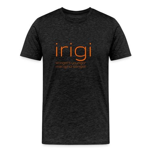 irigi-logo-007 - Men's Premium T-Shirt
