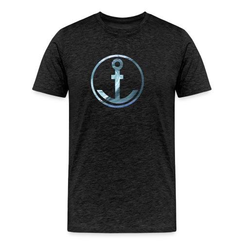 Anker Wellen - Männer Premium T-Shirt