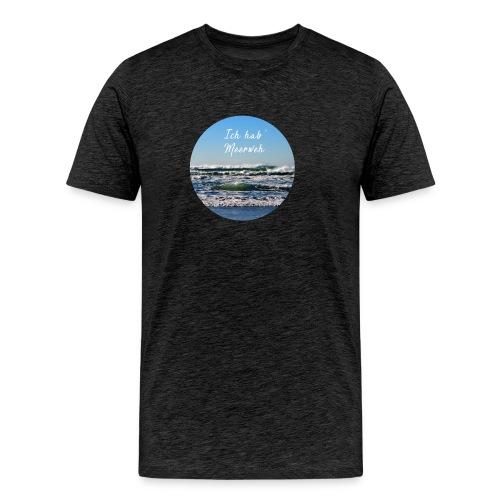 Ich hab' Meerweh - Männer Premium T-Shirt