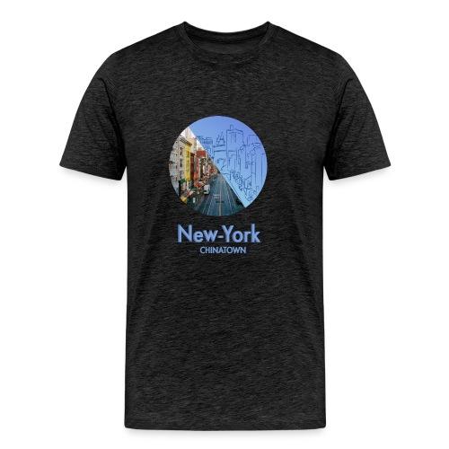New-York Chinatown - T-shirt Premium Homme