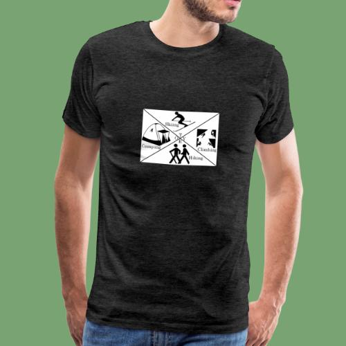 Things to do in Tyrol! - Männer Premium T-Shirt