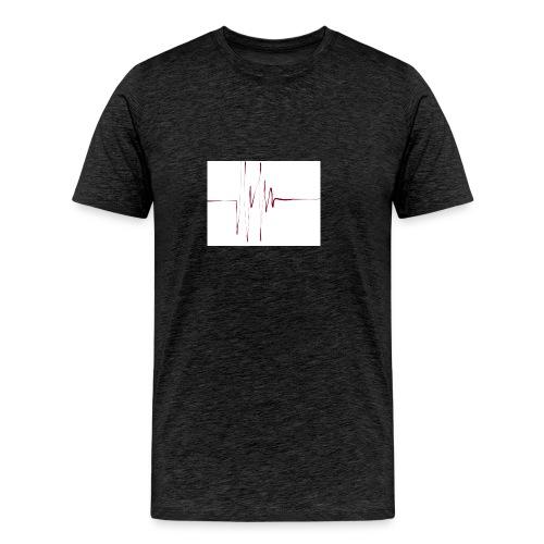 linie - Männer Premium T-Shirt