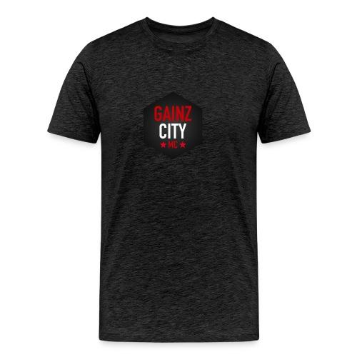 GAINZ CITY - MC - Premium-T-shirt herr