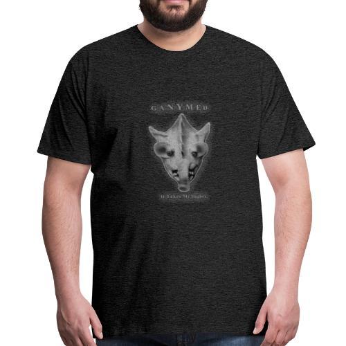 GANYMED silber - Männer Premium T-Shirt