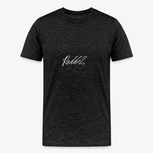 Paddel Sig White Signatur - Männer Premium T-Shirt