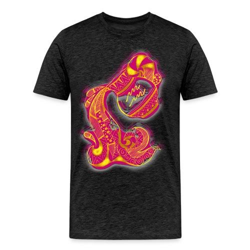 Aquarius Sign Water Vase - Men's Premium T-Shirt