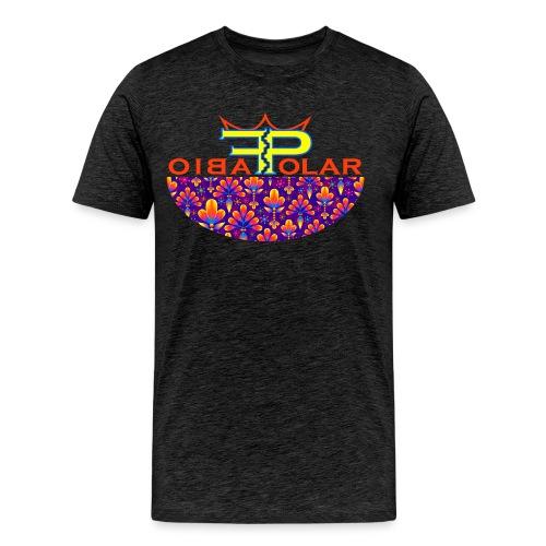 70er flowers - Männer Premium T-Shirt