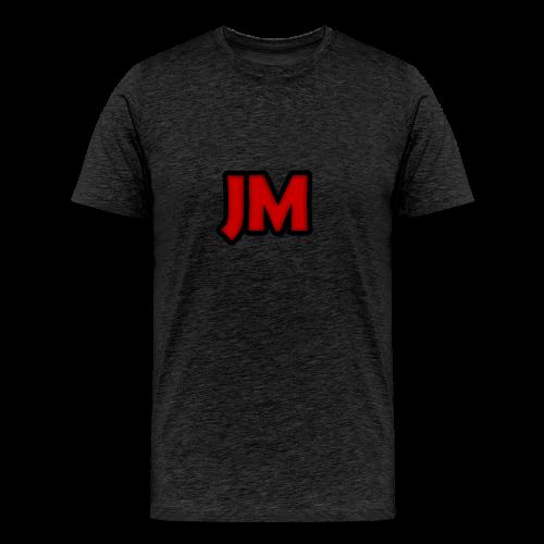 Classic 'JM' Logo T-Shirt - Men's Premium T-Shirt