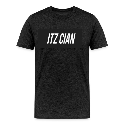 ITZ CIAN RECTANGLE - Men's Premium T-Shirt