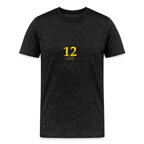 12gelb - Männer Premium T-Shirt