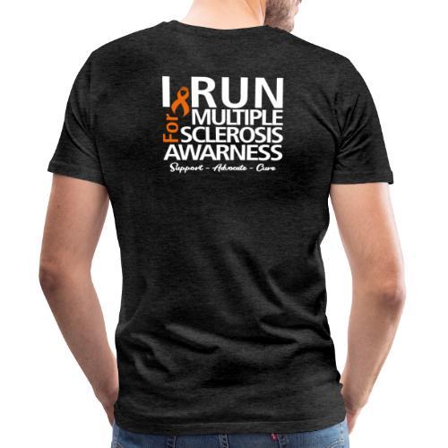 run white - Männer Premium T-Shirt
