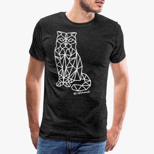 geometriCAT - Camiseta premium hombre