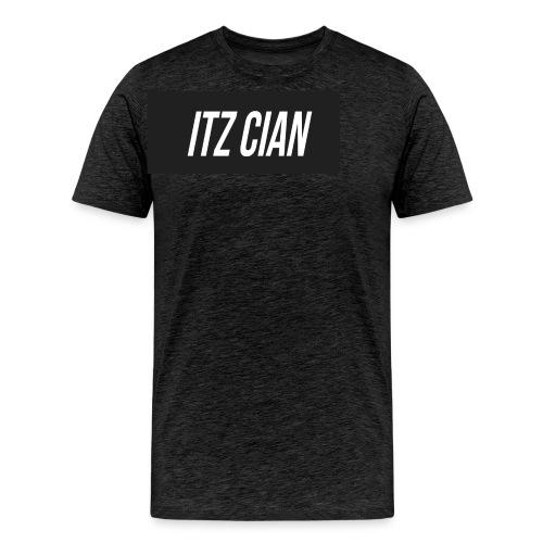 ITZ CIAN RECTANGLE - Men's Premium T-Shirt