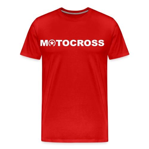 MOTOCROSS 8KS02 - Men's Premium T-Shirt