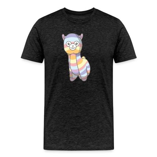 Jens the Llama - Herre premium T-shirt