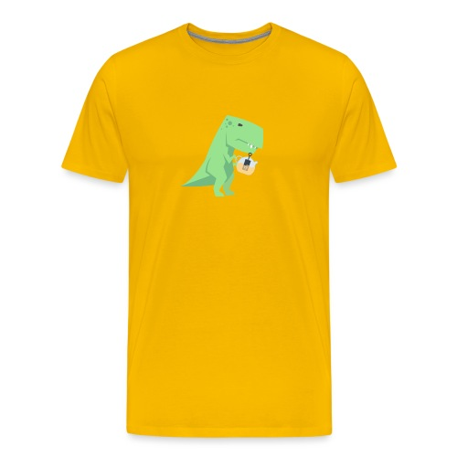 Tea-Saurus - Männer Premium T-Shirt