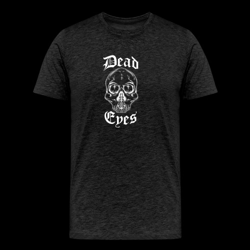 dead eyes logo transparent2 weiß - Männer Premium T-Shirt