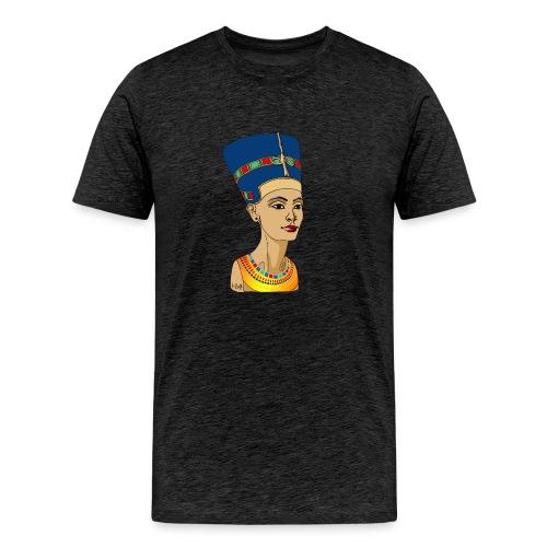 Nofretete - Die Schöne, die da kommt - Männer Premium T-Shirt