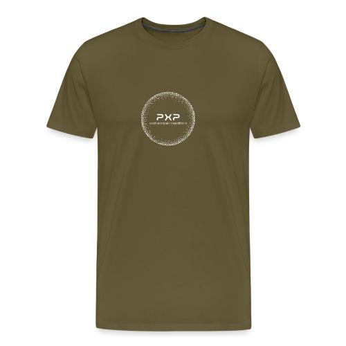 white logo transparent 2x - Men's Premium T-Shirt
