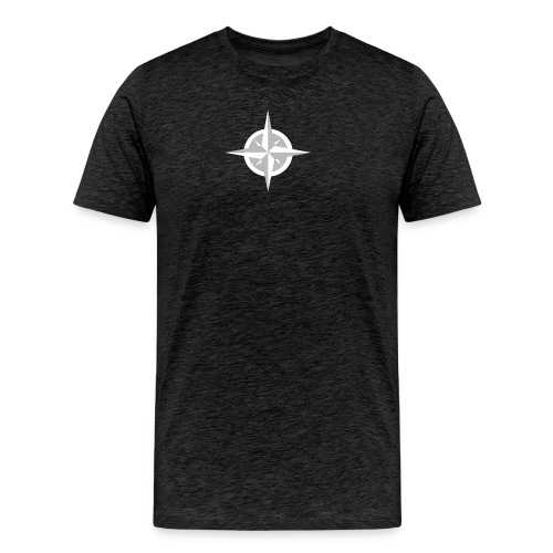 Compass Heart - Men's Premium T-Shirt