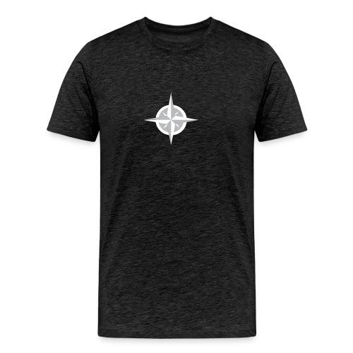Compass Heart - Men's Premium T-Shirt