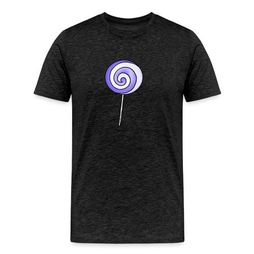 geringelter Lollipop - Männer Premium T-Shirt