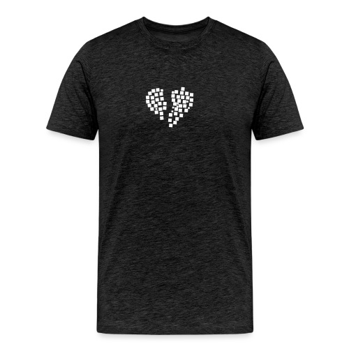 heartpixel - Männer Premium T-Shirt