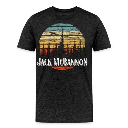 Jack McBannon - Forest Sundown - Männer Premium T-Shirt