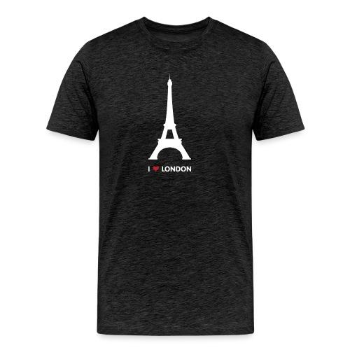 I love London - Mannen Premium T-shirt