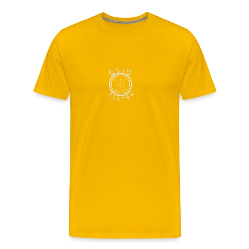 Compass by OliC Clothess (Light) - Herre premium T-shirt