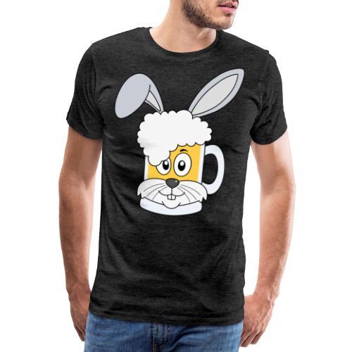 Prosterhase Osterhase Ostern Prostern Prost Bier - Männer Premium T-Shirt
