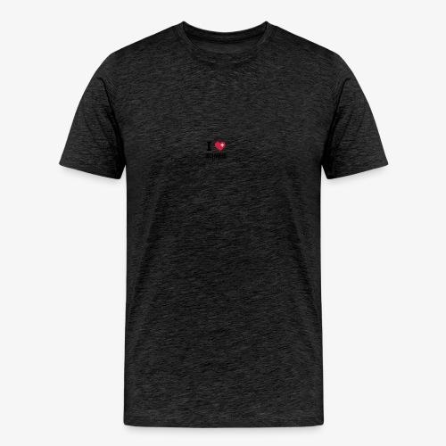 i love schweiz - Männer Premium T-Shirt