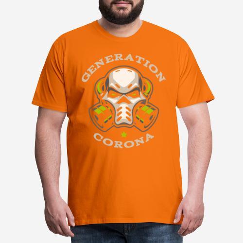corona generation covid - Männer Premium T-Shirt