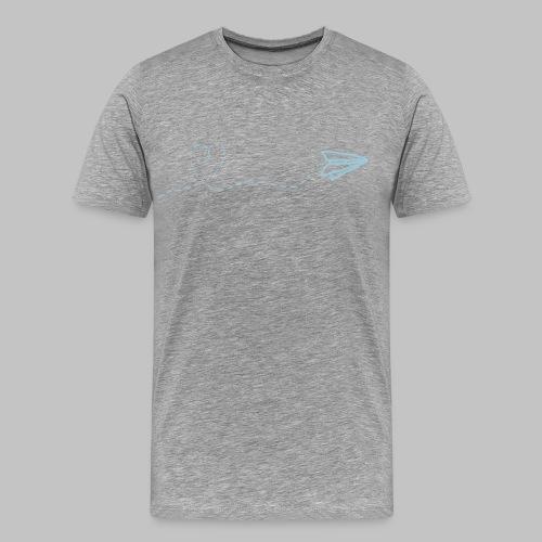 fly heart - Men's Premium T-Shirt