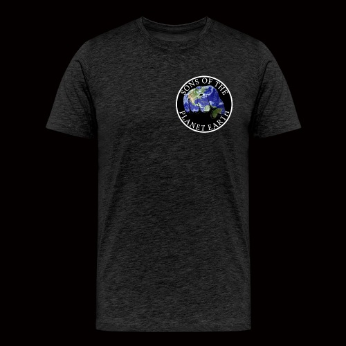 SONS OF THE PLANET EARTH black backround - Miesten premium t-paita