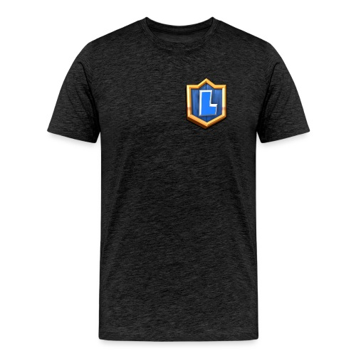 LuFresh Logo Blau - Männer Premium T-Shirt