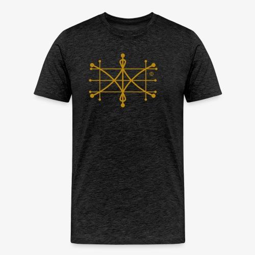 ParaWhisp Gold - beidseitig bedruckt - Männer Premium T-Shirt