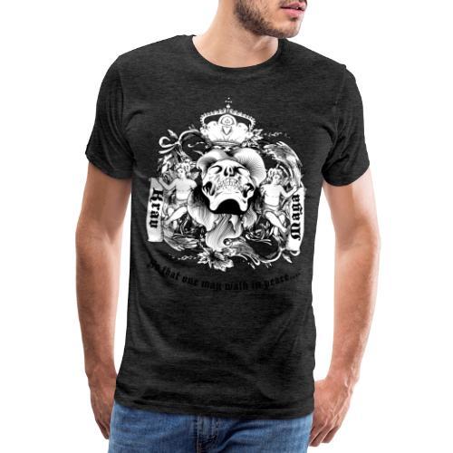 Krav Maga Skull - Men's Premium T-Shirt