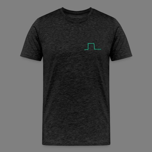 Wave Square - Männer Premium T-Shirt