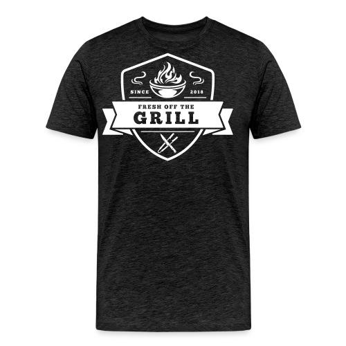 Fresh off the Grill Black - Männer Premium T-Shirt
