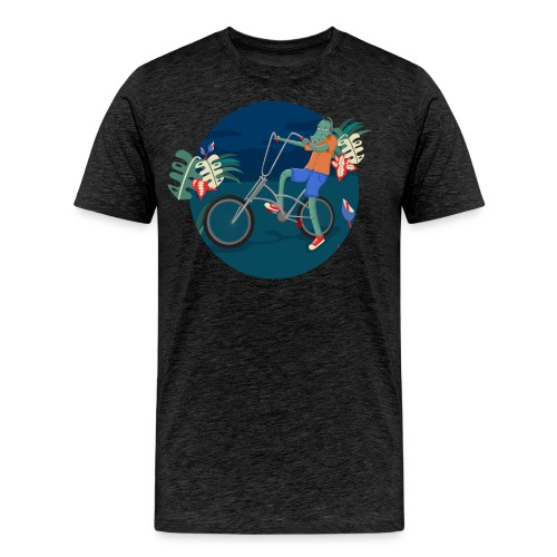 Bike Crocodile - Camiseta premium hombre