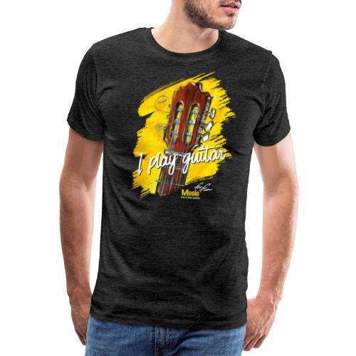 I play guitar - limited edition '19 - Männer Premium T-Shirt