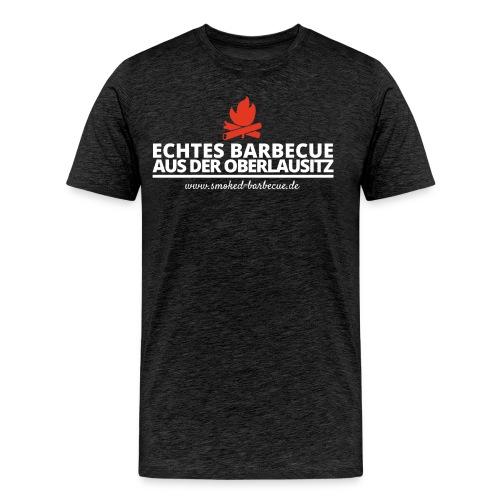 T Shirt Echtes BBQ w png - Männer Premium T-Shirt