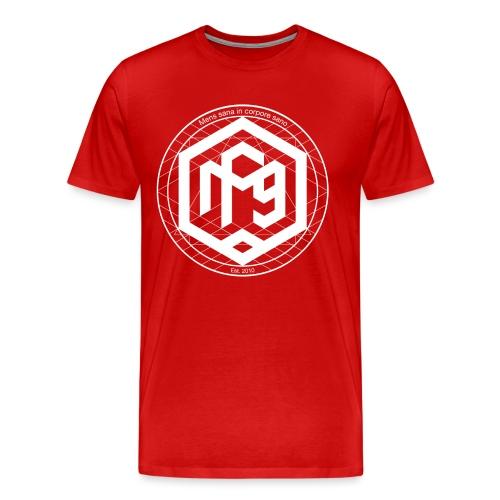 Mens sana white png - Men's Premium T-Shirt