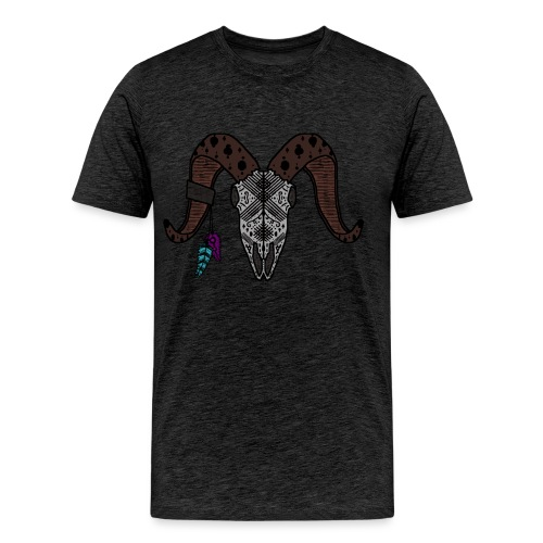 Widder-Federn - Männer Premium T-Shirt