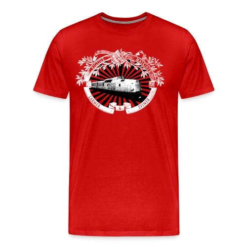 Rigtige Maskiner - Herre premium T-shirt