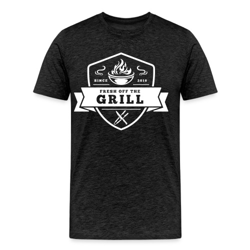 Fresh off the Grill Black - Männer Premium T-Shirt