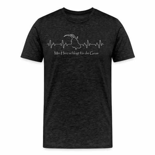 GoasnHerz - Männer Premium T-Shirt