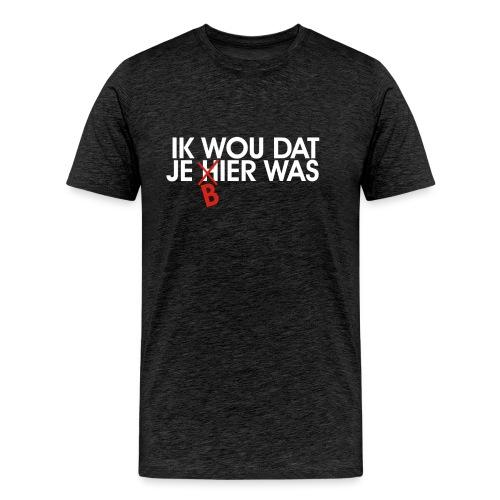 Je souhaite que vous étiez la bière - T-shirt Premium Homme